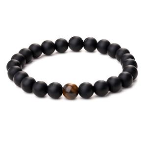 bracelet homme, bracelet homme zen, pierre de lave, bracelet unisexe, oeil de tigre, bracelet femme