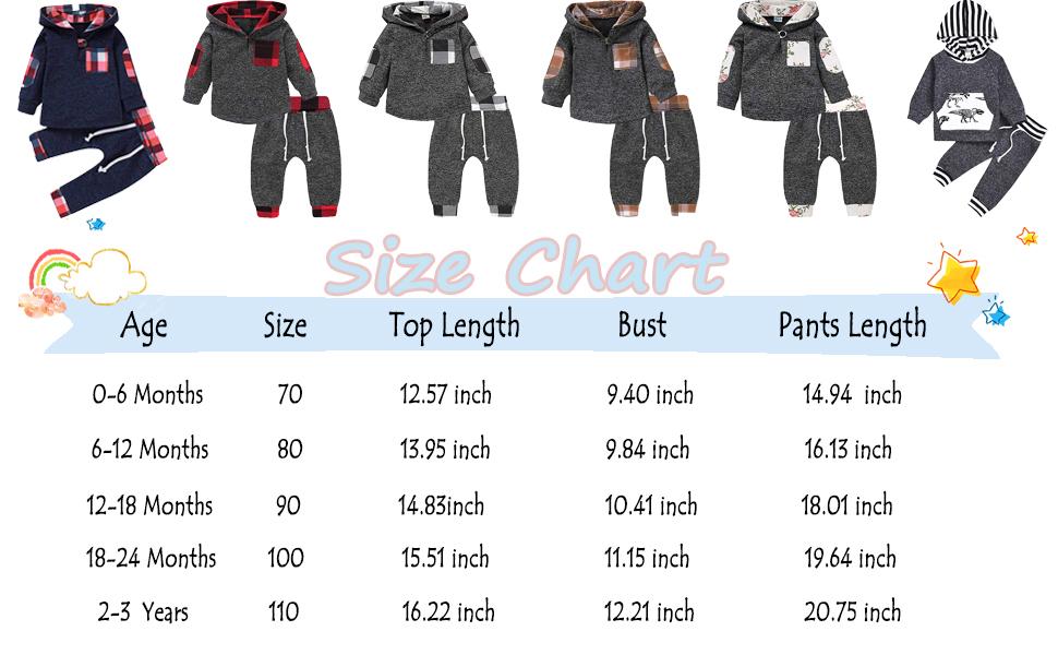 5 4 New Gorgeous Boys 2 Piece Winter//Autumn Set Size