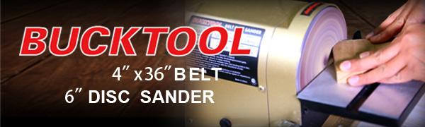 belt and disc sander