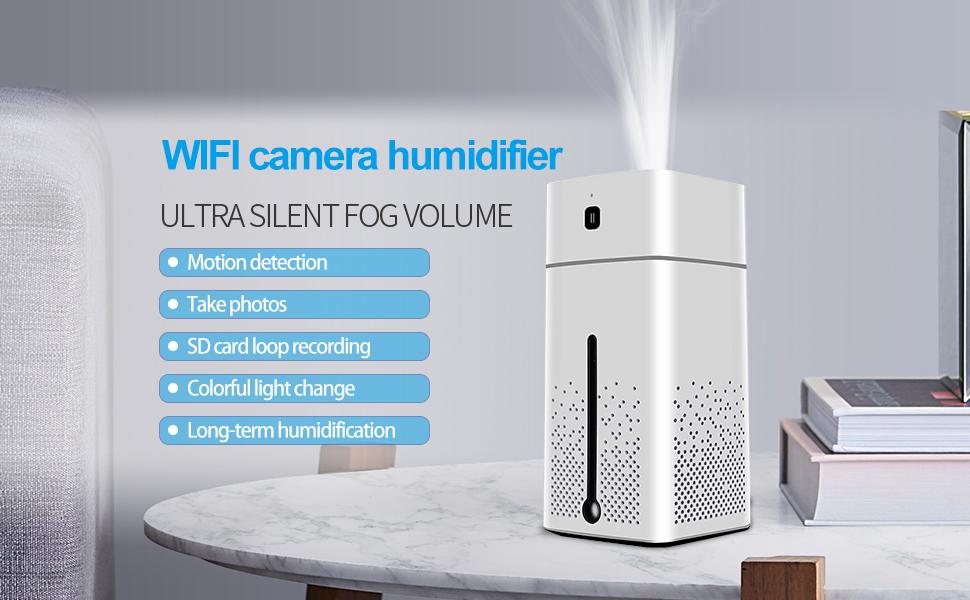 WIFI camera humidifier