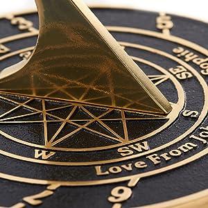 Custom sundial