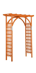Yaheetech 7ft Arbor and Arch