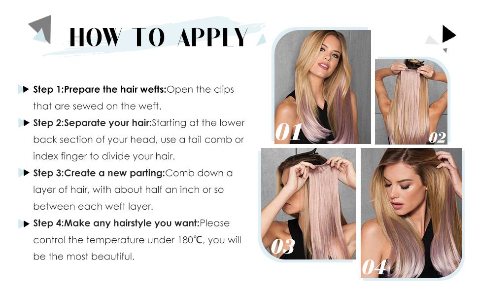 clip in hair extensions human hair ash blonde