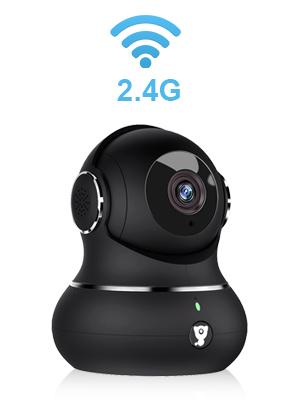 monitor de beb/é audio de 2 v/ías detecci/ón de movimiento funciona con Alexa 1080p WiFi Littlelf C/ámara de vigilancia c/ámara IP con visi/ón nocturna Cloud Service HD