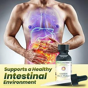 supports healthy intestinal environment