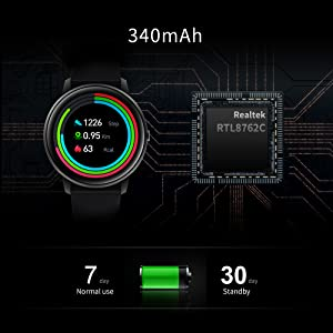 7 Days Battery Life Smart Watch
