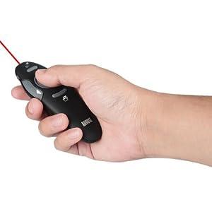 télécommande pour diaporama avec pointeur laser