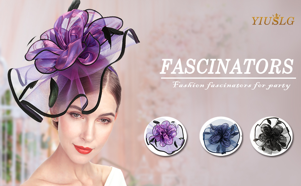 Fascinator hats for women