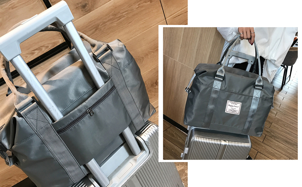 travel bag with trolley sleeve