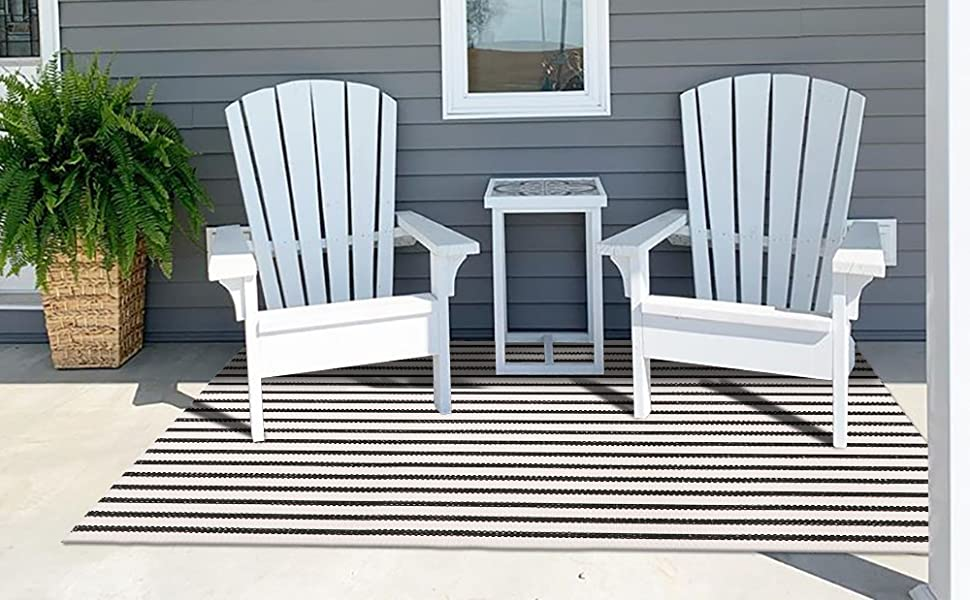 Stripe Outdoor Rug