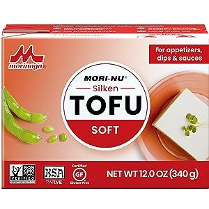 Mori-Nu Tofu, Silken Tofu, Plant-Based, Vegan, Vegetarian, Non-GMO, Gluten-Free, Shelf-Stable