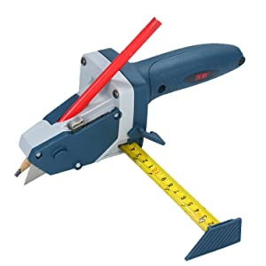 KKmoon All-in-one Gypsum Board Cutting Tool with Measuring Tape