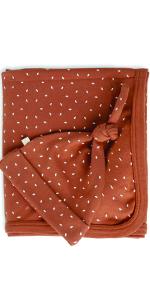 organic cotton baby blanket swaddle receiving gift set set baby shower gift boys girls unisex