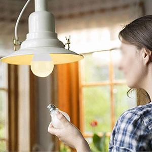 ampoule de table
