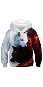 boys wolf sweatshirts