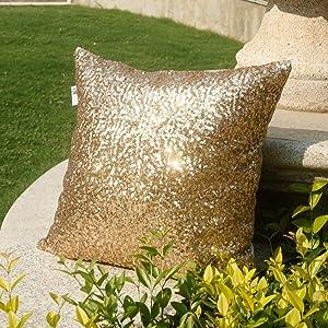 sequins pillows