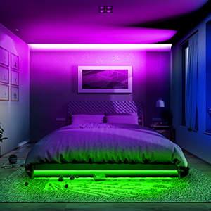 led lights for bedroom
