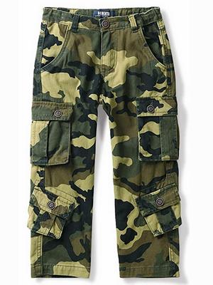 Pantalones de camuflaje para niños