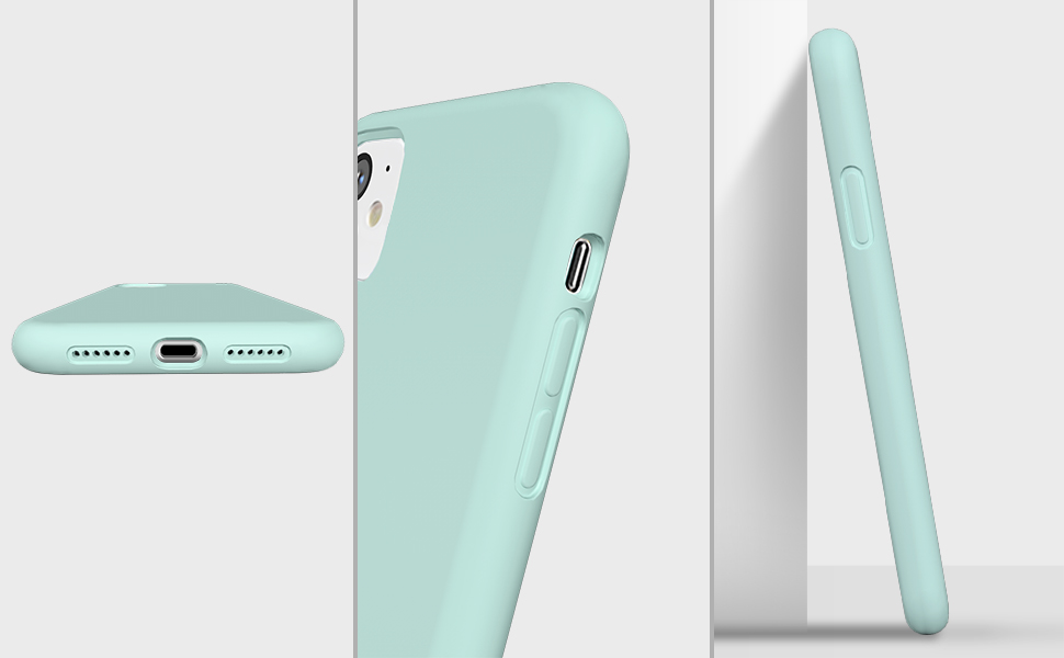 protective phone case iphone 11 mint green