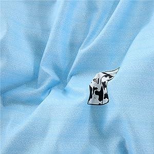 Milk Cow Print Comforter Set Cover