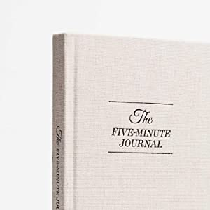 five minute journal hard cover