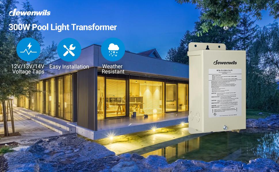 pool light transformer