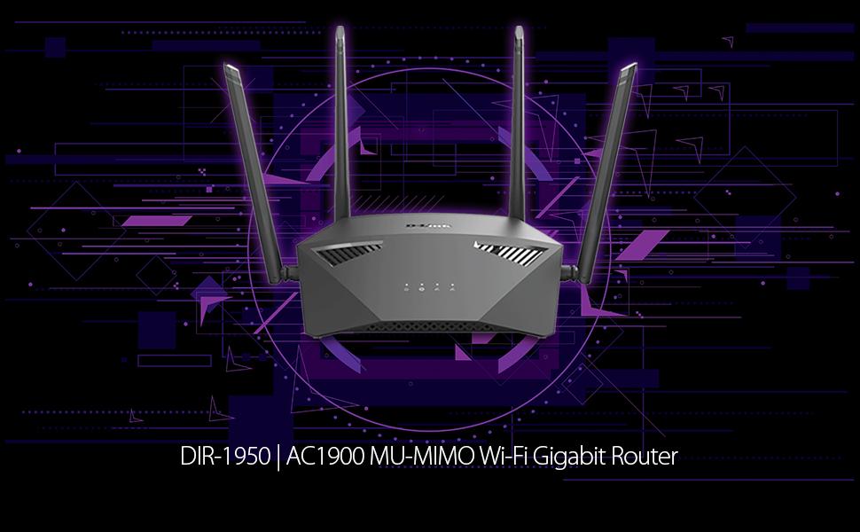 wifi router wireless ac1900 5 gaming internet long range gigabit dual band network