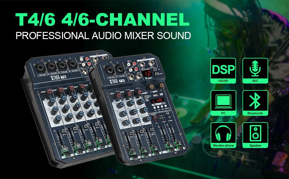 T4/T6 audio mixer