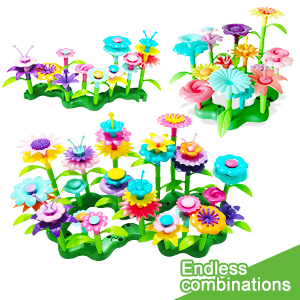 Endless Combinations flower building toys