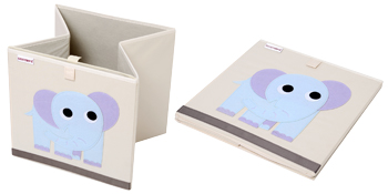 Canvas fabric toy storage cubes bins boxes