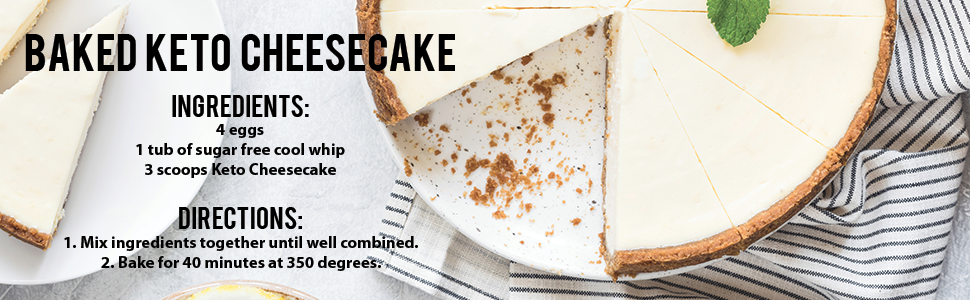 Giant Sports Keto Cheesecake