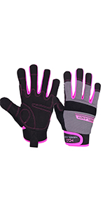 women work gloves