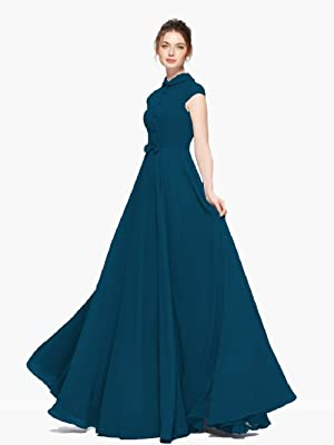 Buy Fibreza Women S A Line Maxi Dress At Amazon In