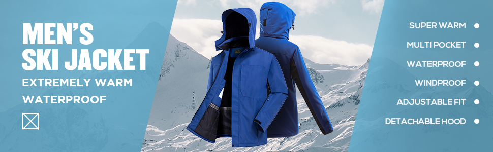ski snow jacket