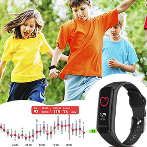 Heart rate monitor heart rate tracker