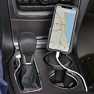 Amazon Com Weathertech Cupfone Universal Cup Holder For Car Phone Mount Automobile Cradle Compatible With Iphone And Cell Phones