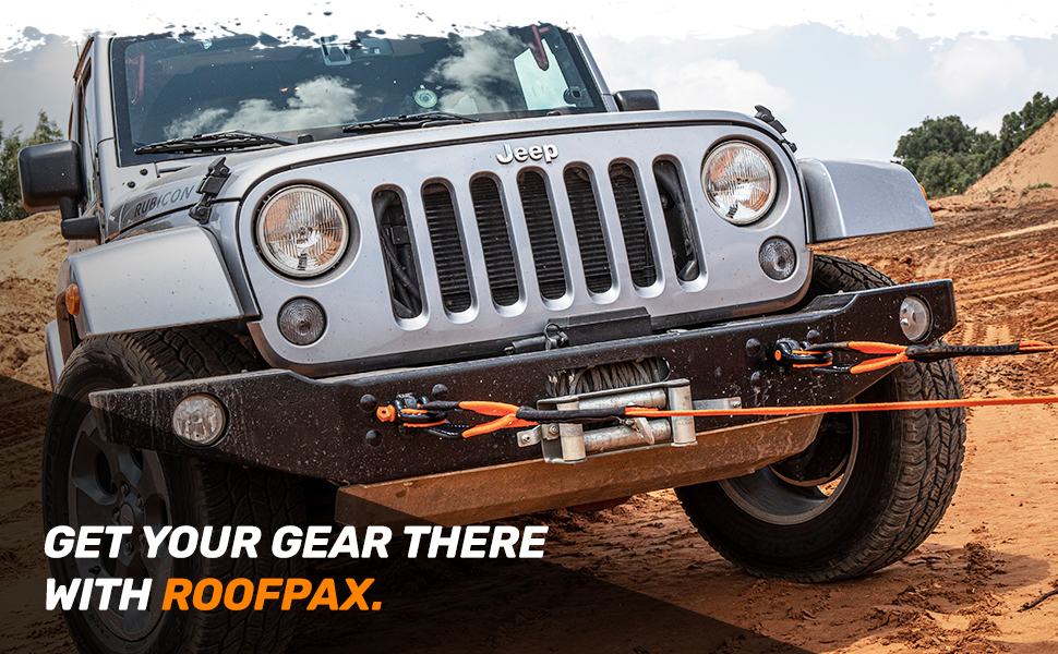 get your gear there with roofpax