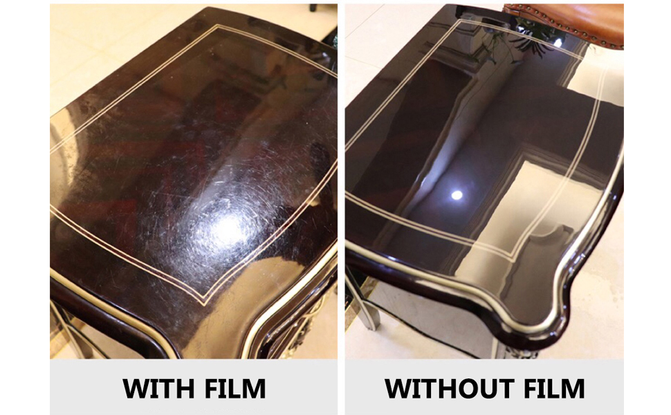 3,28 €//m² Furniture Film Adhesive Foil Light Yellow Gloss 61cm Wide
