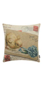 Trendin Easter Chick Pillow Cover