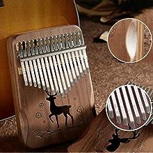 Piano à pouce Kalimba
