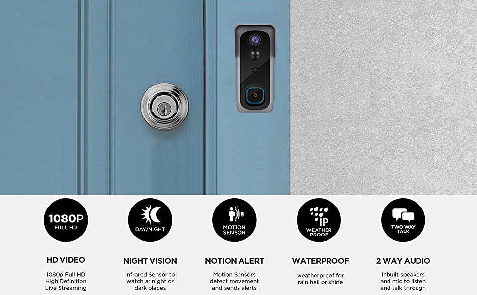zumimall video doorbell