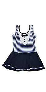 baby girl skirt swim suit sunsuit one-piece