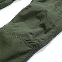Mens Hiking PantsQuick Dry Lightweight Zip Off Outdoor Fishing Travel Safari Pants