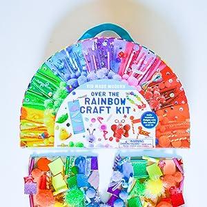 rainbow arts and crafts kit
