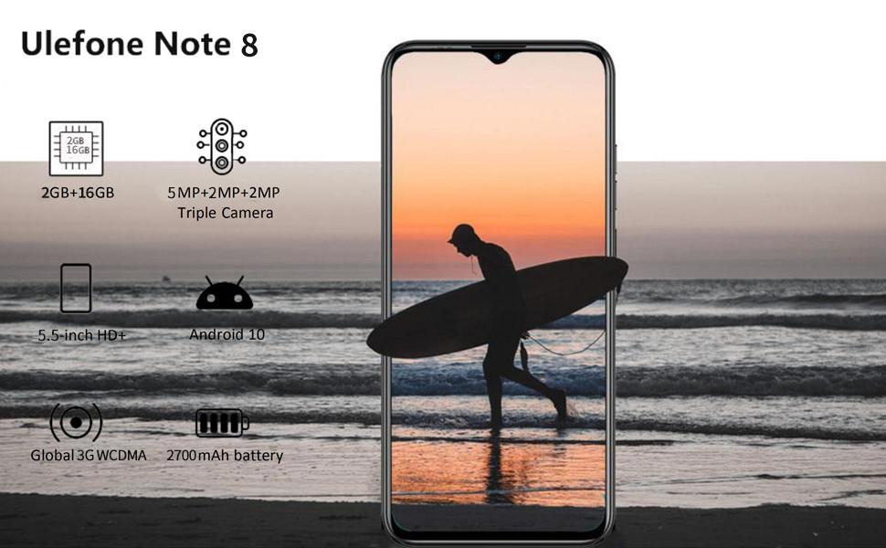 Ulefone note 8, ulefone unlocked cell phones, dual sim unlocked cell phones, unlocked smartphone