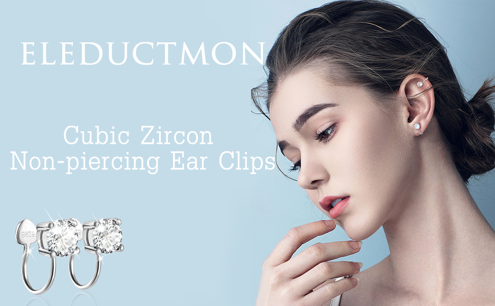 Non-piercing earrings