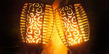 Torch Lights Garden Flame Effect