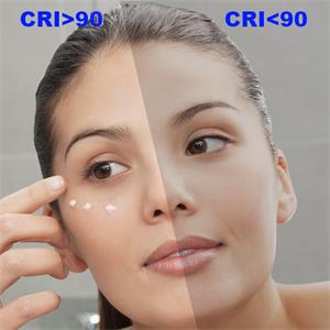 CRIgt;90 CRI 90 bathroom mirror with led lights