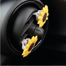 clip sunflower car accessories
