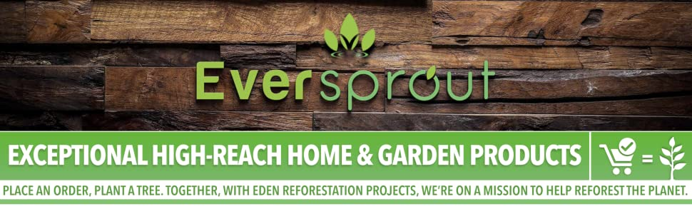 EVERSPROUT Amazon store front. Eversprout extendable products. home and garden products